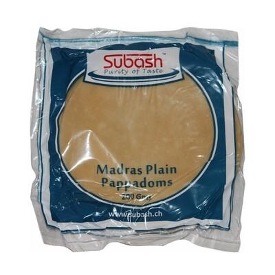 Subash Papadam Plain 6