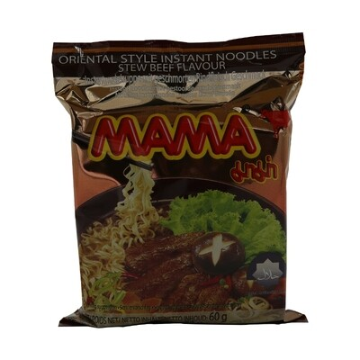 Mama Instant Noodle Beef 30 x 60 g
