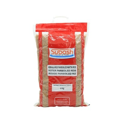 Subash Red Boiled Kerala 4 x 5 kg