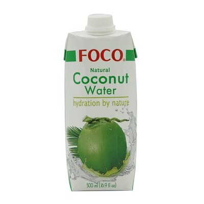 Foco Coconut Water 100 % 12 x 500 ml