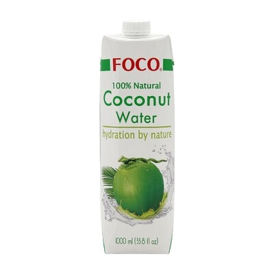 Foco Coconut Water 100% 12 x 1 L