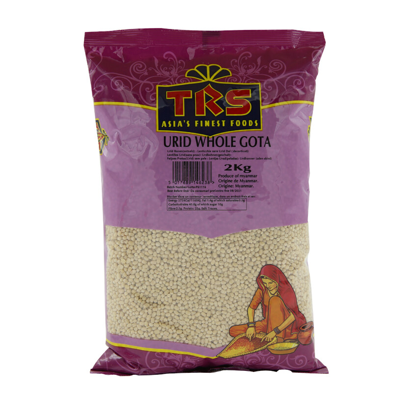 TRS Urid Whole Ghotta 6 x 2 kg