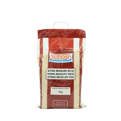 Subash Sona Masuri Rice 4 x 5 kg