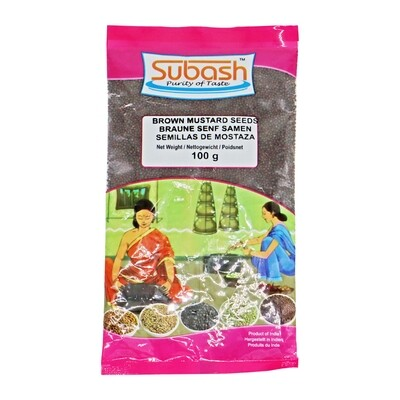 Subash Mustard Seeds 20 x 100 g