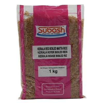 Subash Red Boiled Kerala 20 x 1 kg