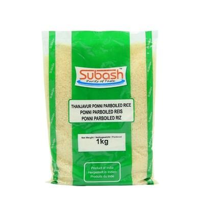 Subash Ponni Boiled Rice 20 x 1 kg