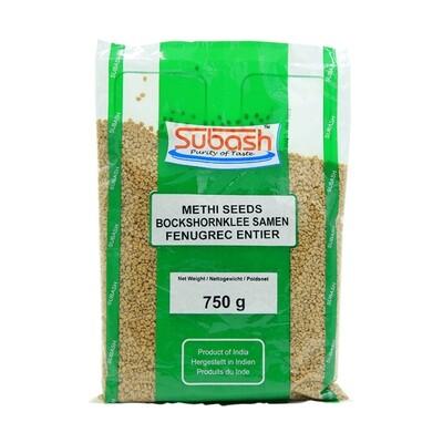 Subash Methi Seeds 10 x 750 g