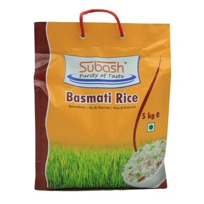 Subash Basmati Rice Gold 4 x 5 kg