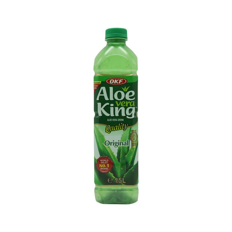 OKF Aloe Vera Drink 12 x 1.5 L