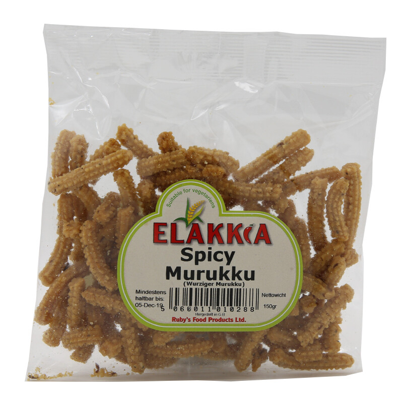 Ellakiya Spicy Murukku 15 x 150 g