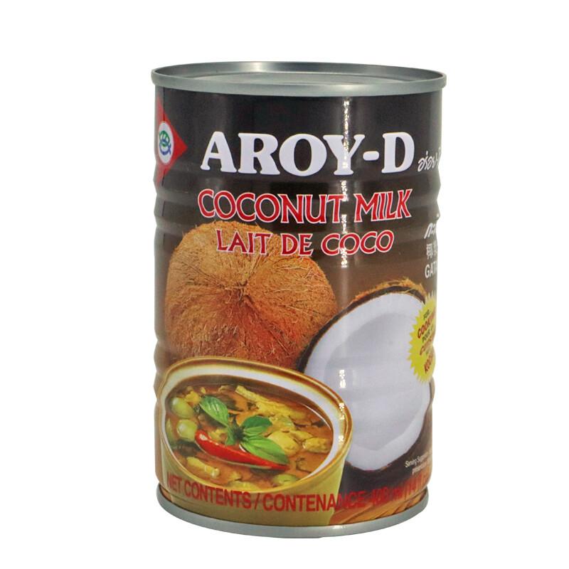 Aroy-D Coconut Milk 24 x 400 ml