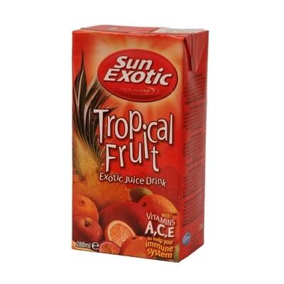 Sun Exotic Tropical Drink 27 x 288 ml