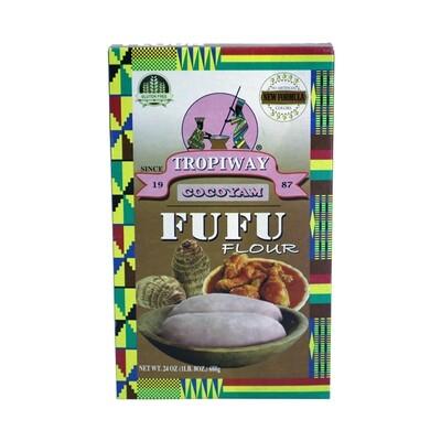 Tropiway Fufu Flour Cocoyam 24 x 680 g