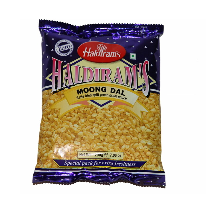 Haldiram Moong Dal Plain 10 x 200 g
