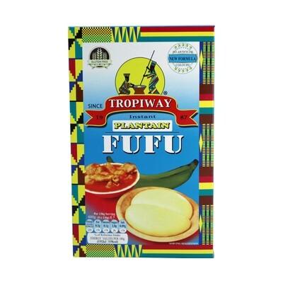 Tropiway Fufu Flour Plantain 24 x 680 g