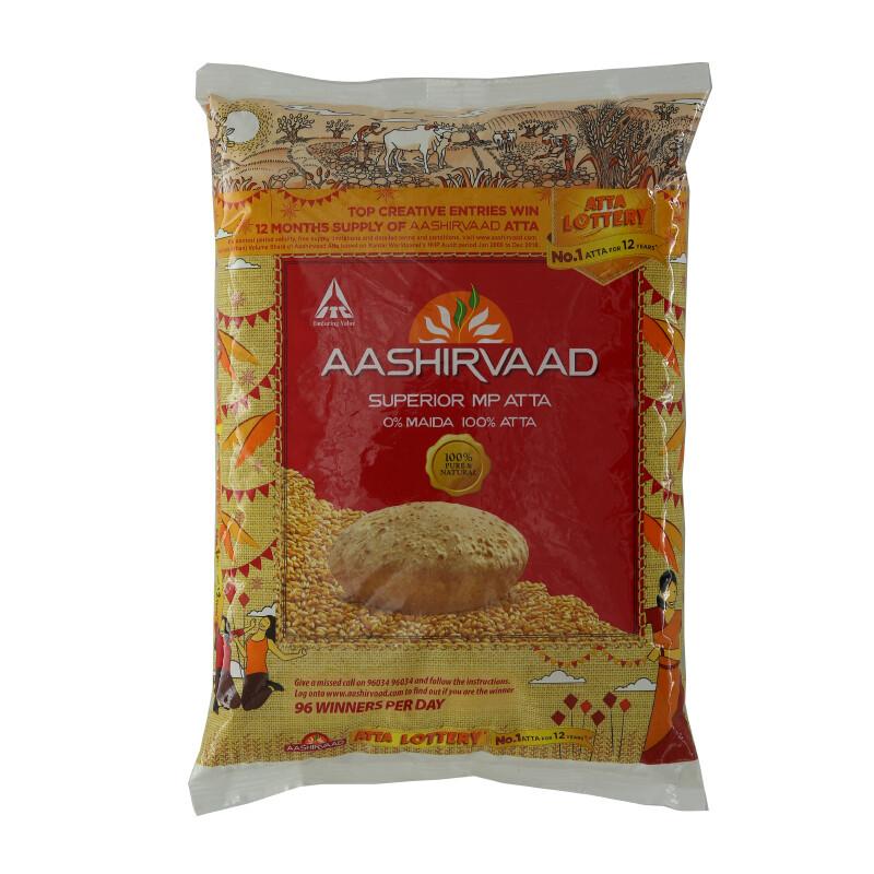 Ashirwad Atta Flour 20 x 1 kg