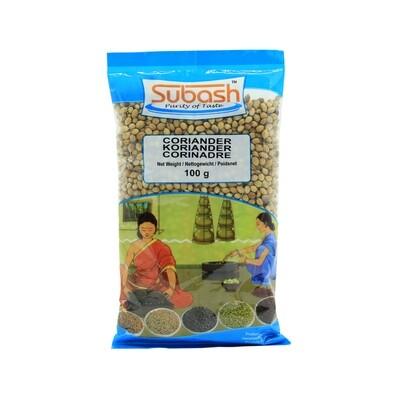 Subash Dhania Whole 30 x 100 g
