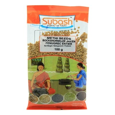 Subash Methi Seeds 30 x 100 g