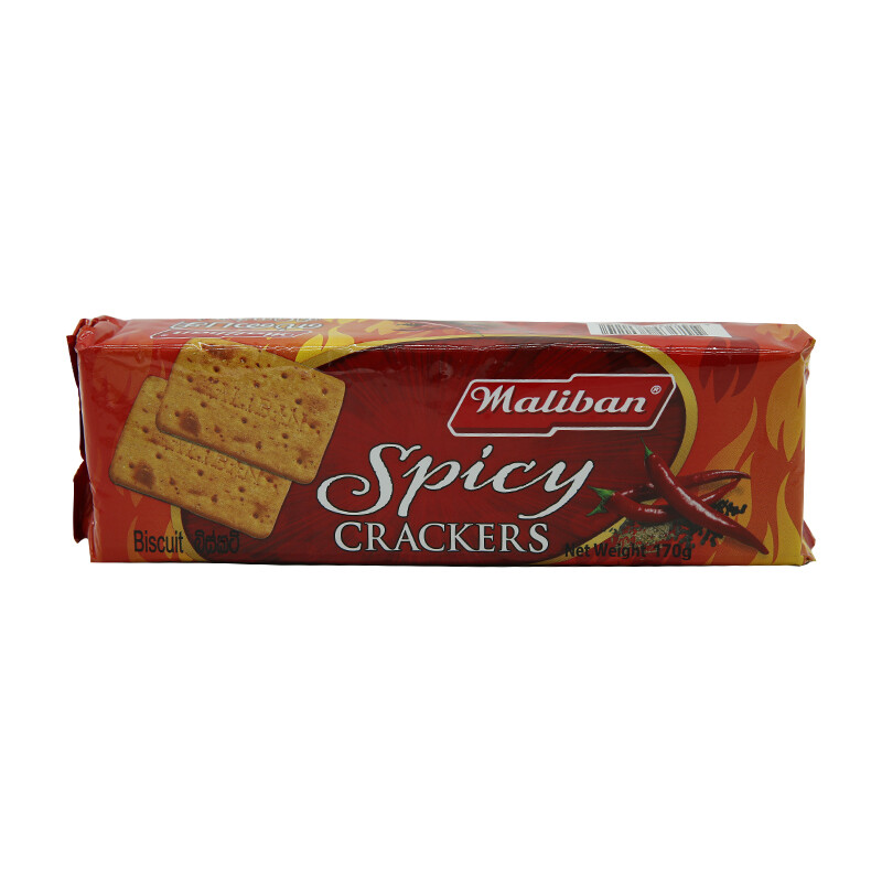 Maliban Spicy Cracker 30 x 170 g