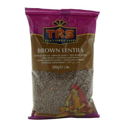 TRS Lentils Brown Whole 10 x 1 kg