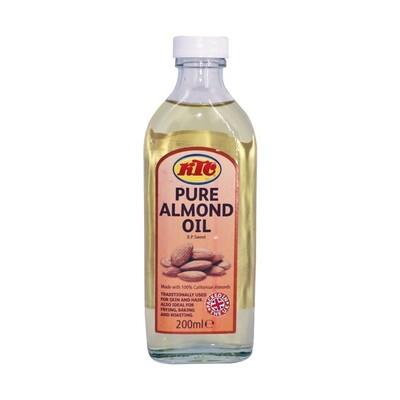 KTC Almond Oil 12 x 200 ml