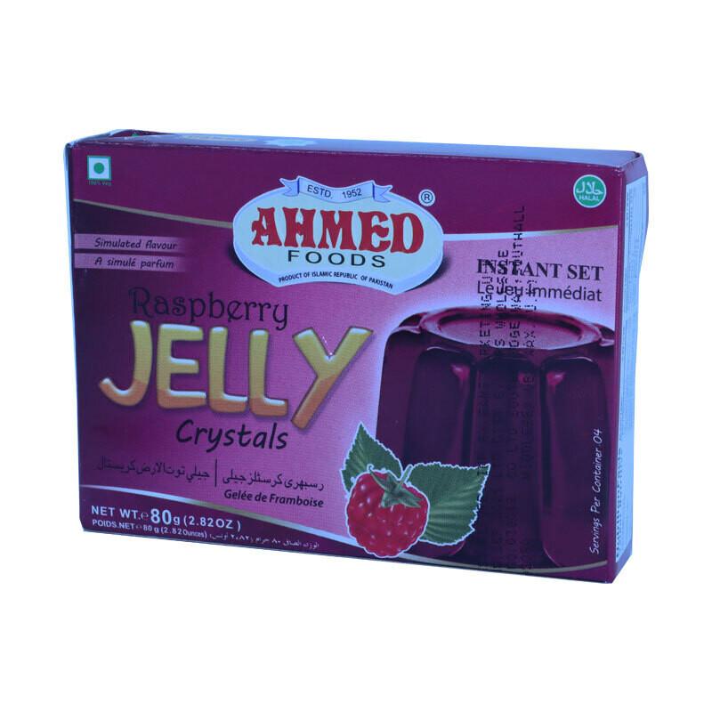 Ahmed Jelly Rasberry 12 x 85 g