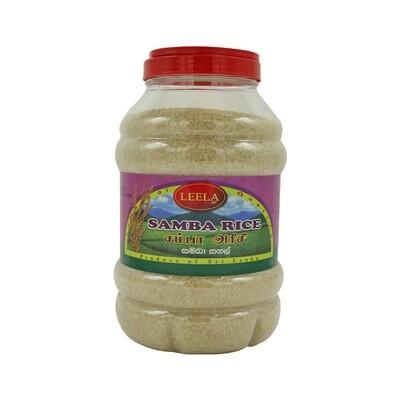Leela Samba Rice Bottle 4 x 5 kg