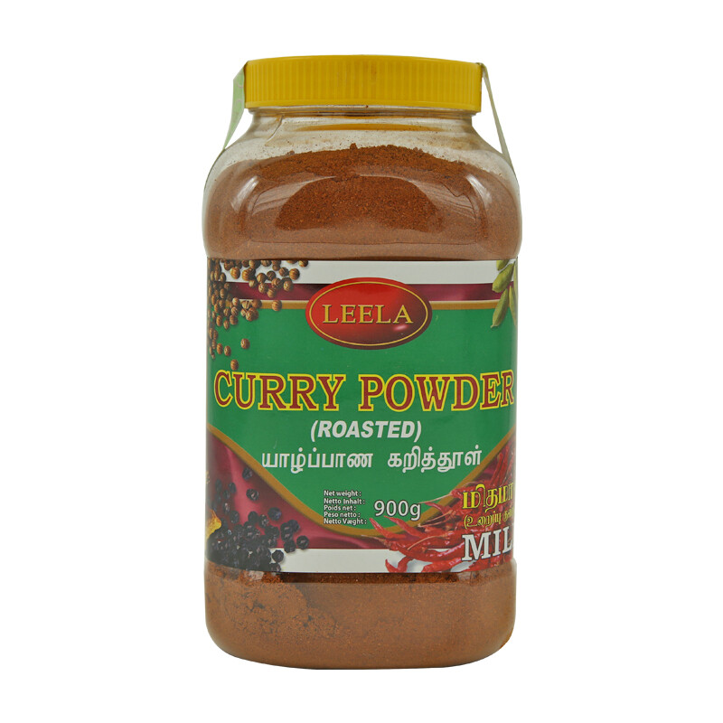 Leela Jaffna Curry Powder- Mild 16 x 900 g