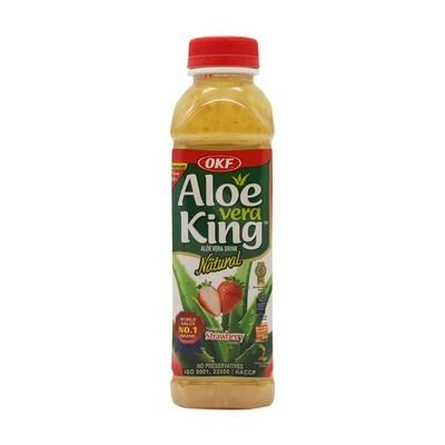 OKF Aloe Vera Drink Strawberry 20 x 500 ml