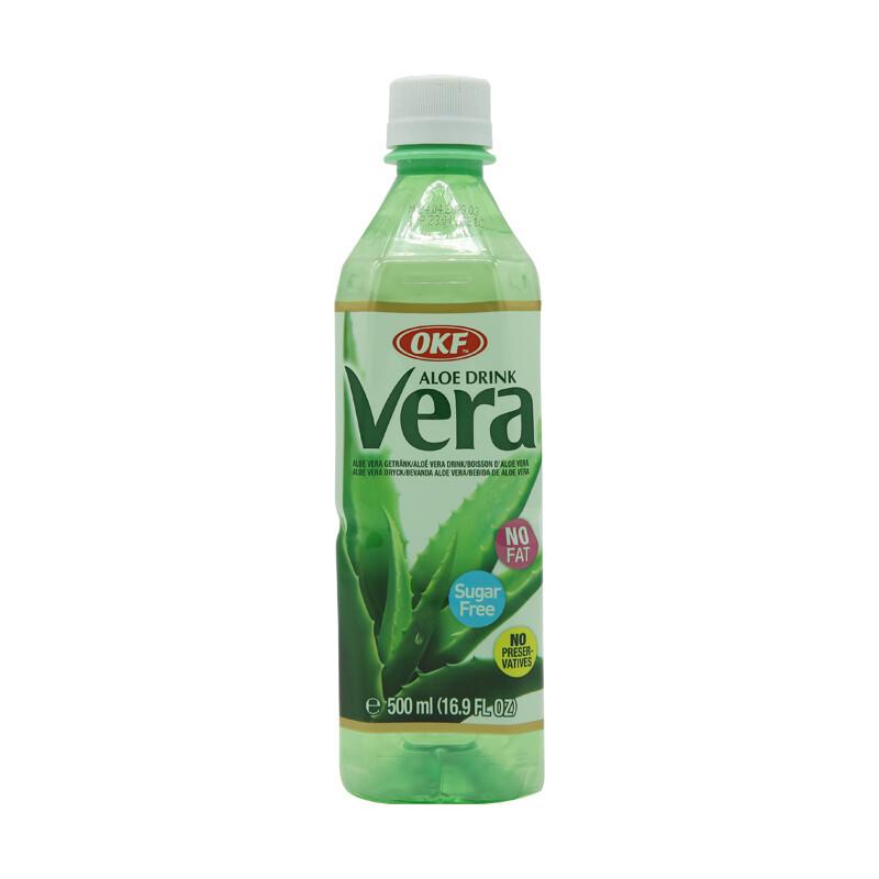 OKF Aloe Vera Drink Sugar Free 20 x 500 ml