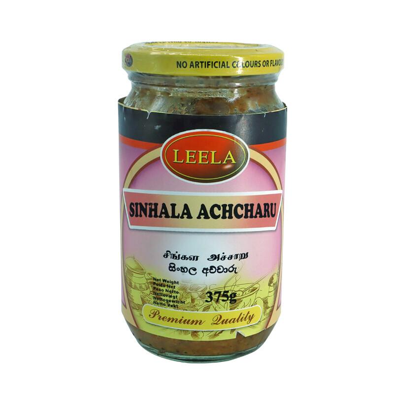 Leela Sinhala Achcharu 12 x 375g