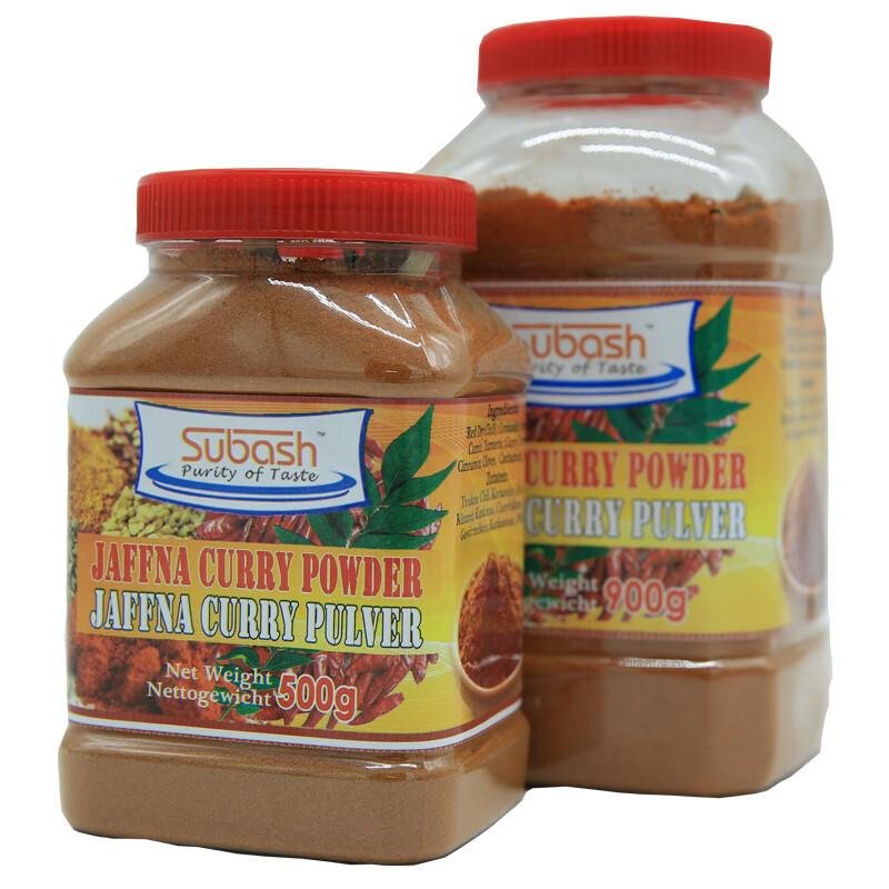 Subash Jaffna Curry Powder  12 x 900 g