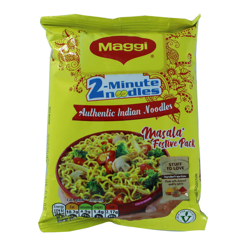 Maggi Indian 2 Min Masala Noodles 96 x 70 g