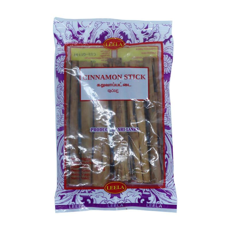 Leela Cinnamon Sticks 100 x 50 g