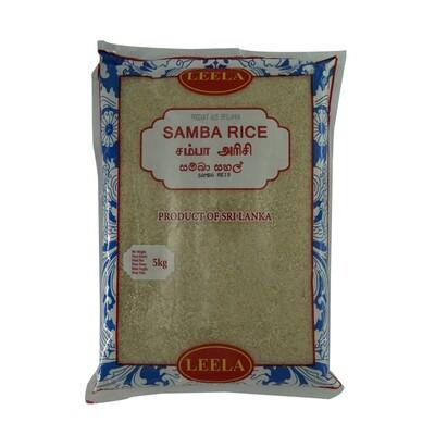 Leela Samba Rice 5 x 5 kg