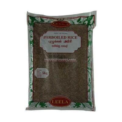 Leela Par Boiled Rice T/P 5 x 5 kg