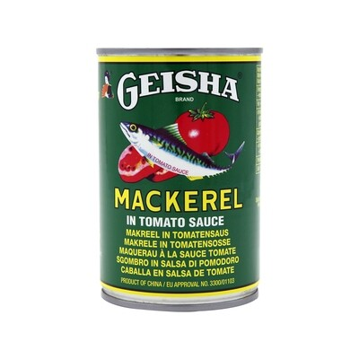 Geisha Mackerel Tomato Sauce 12 x 425 g