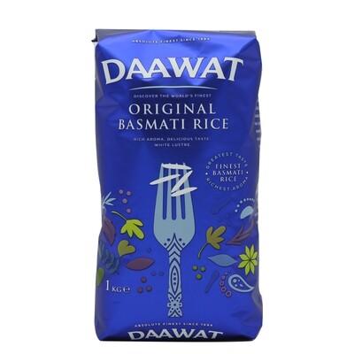 Daawat Basmati Rice Origanal 1 x 5 kg