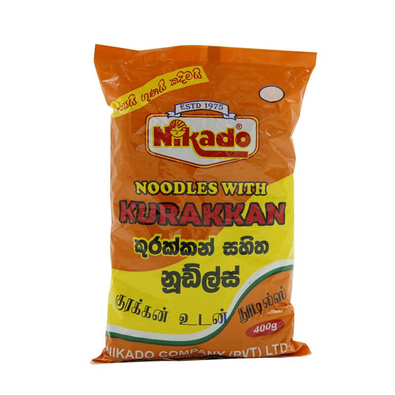 Nikado Kurakkan Mixed Dry Noodles 24 x 400 g