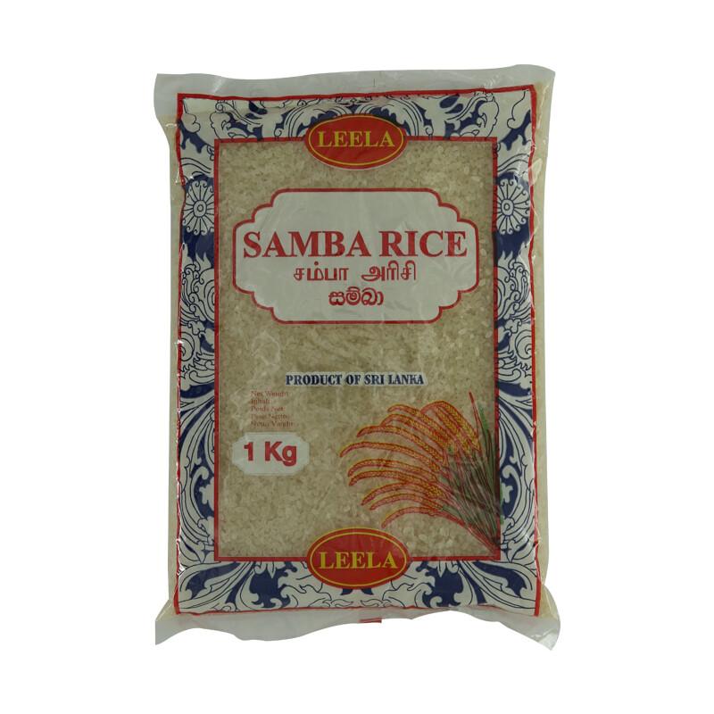 Leela Samba Rice 24 x 1 kg