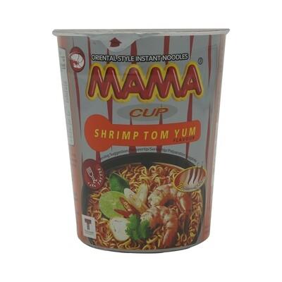 Mama Instant Cup Noodles Shrimp 16 x 70 g