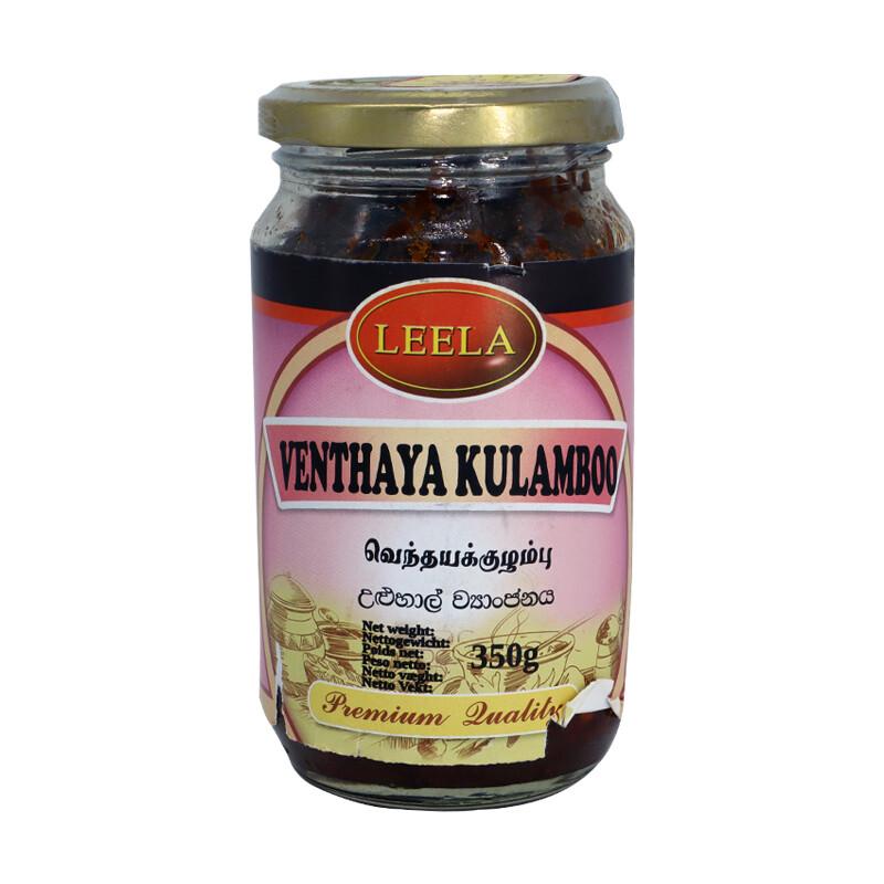 Leela Venthaya Kulamboo 12 x 350 g