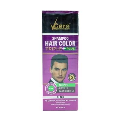 Vcare Shampoo Hair Color 12 x 180 ml