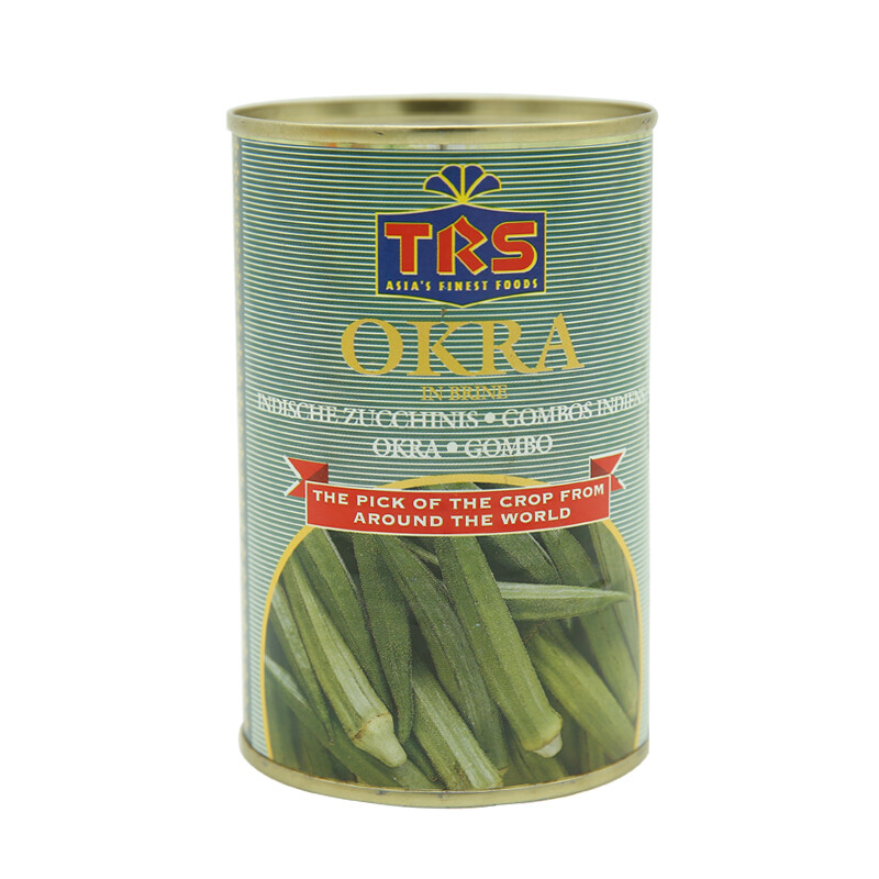 TRS Canned Okra 12 x 400 g