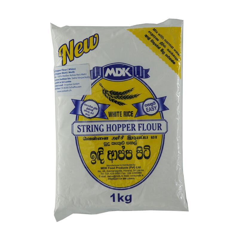 MDK String Hopper Flour White  12 x 1 kg