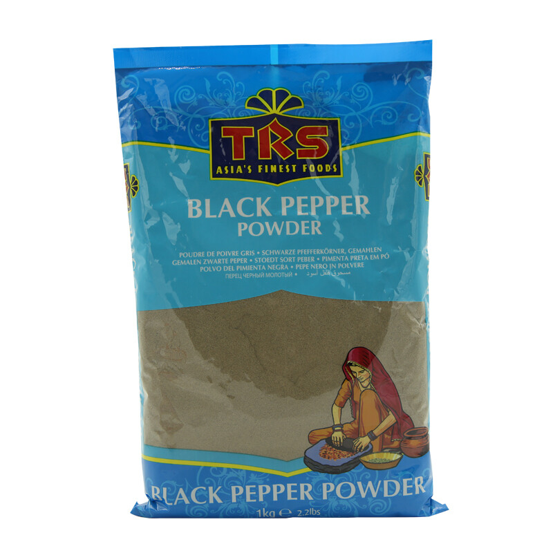 TRS Black Pepper Powder 6 x 1 kg