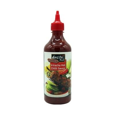Exotic Sriracha Hot Chilli Sauce 12 x 730 ml