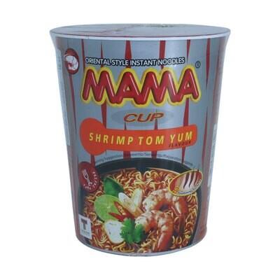 Mama Inst Noodle Cup Shrimp 16 x 70 g