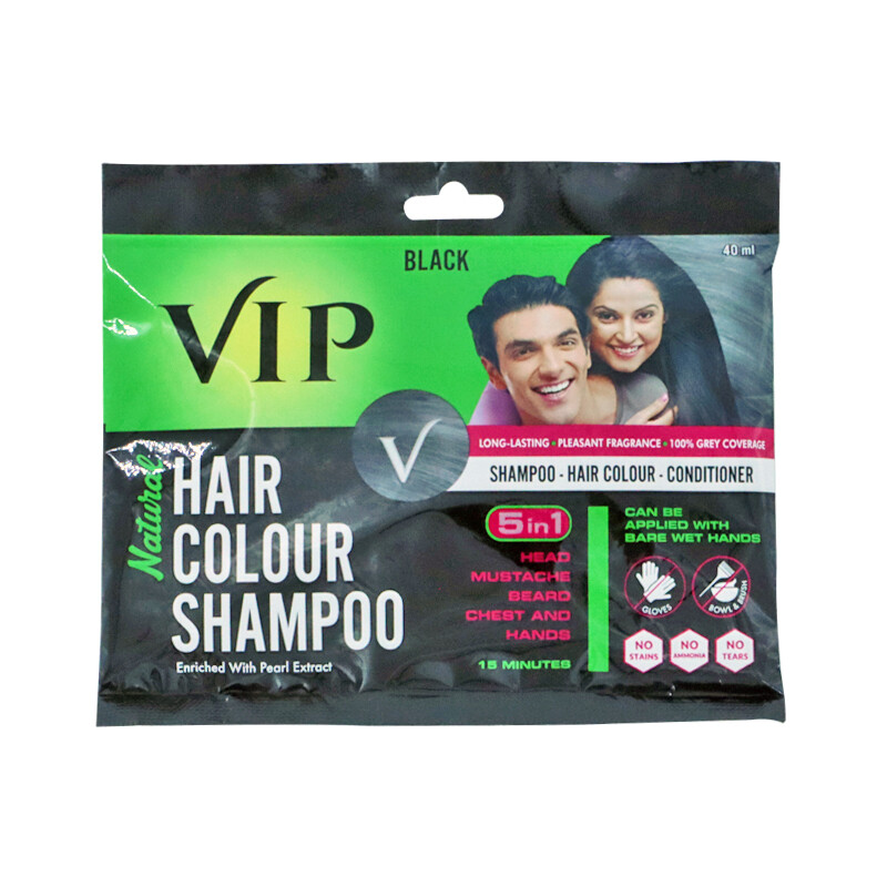 Vip Hair Color Shampoo  10 x 40 ml