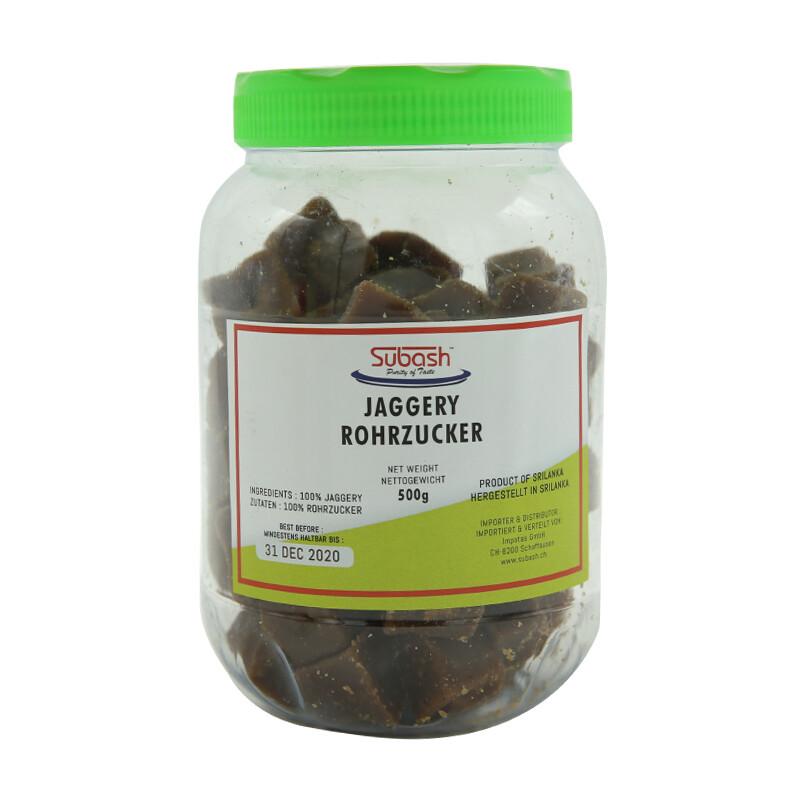 Subash Jaggery Brown Bottle 12 x 1 kg